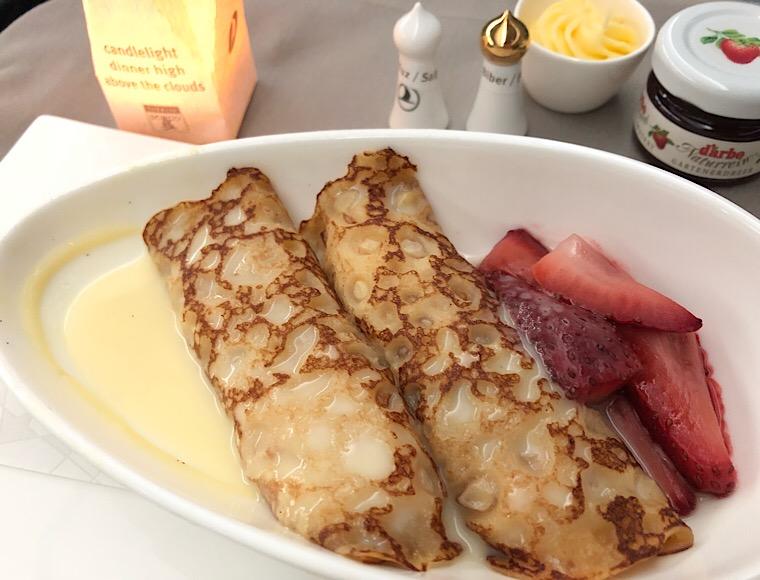 朝食2 クレープ