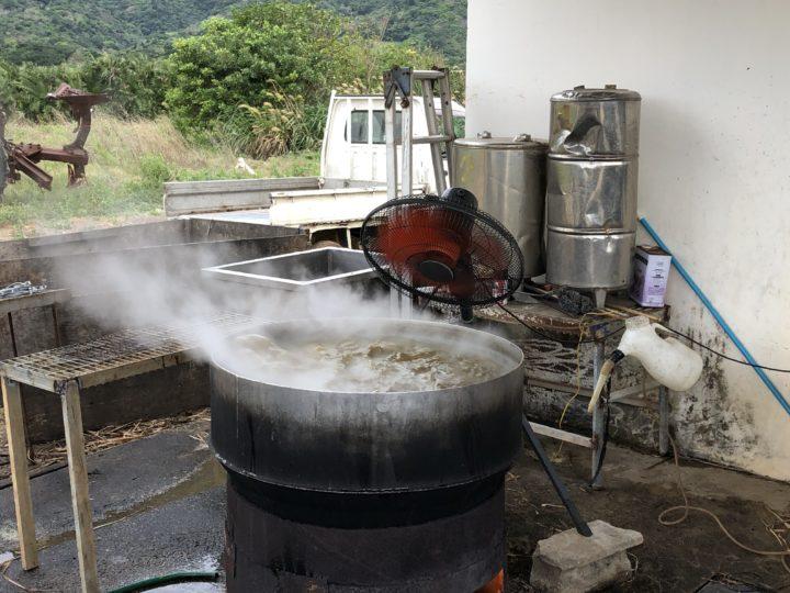 猪狩家の黒糖作り