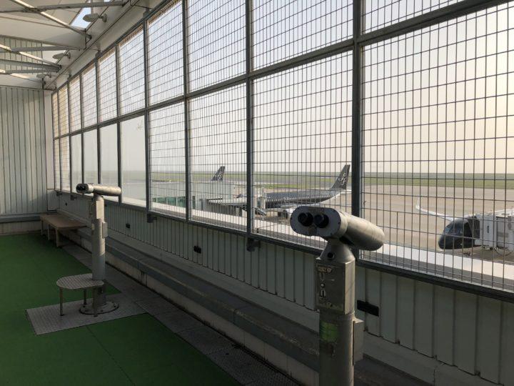 北九州空港3Fの展望台