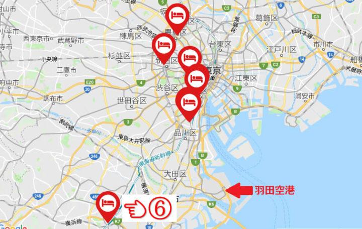新横浜プリンスホテルの場所