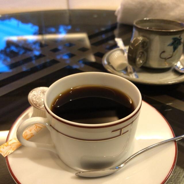 観音温泉のサービスコーヒー