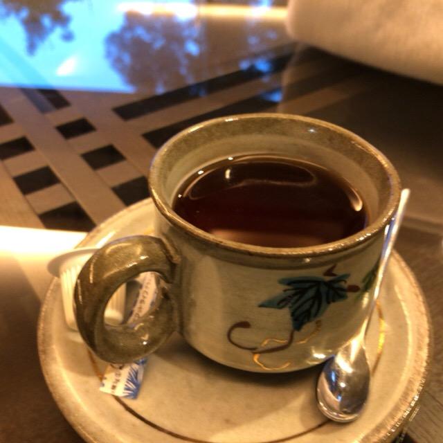 観音温泉のサービス紅茶