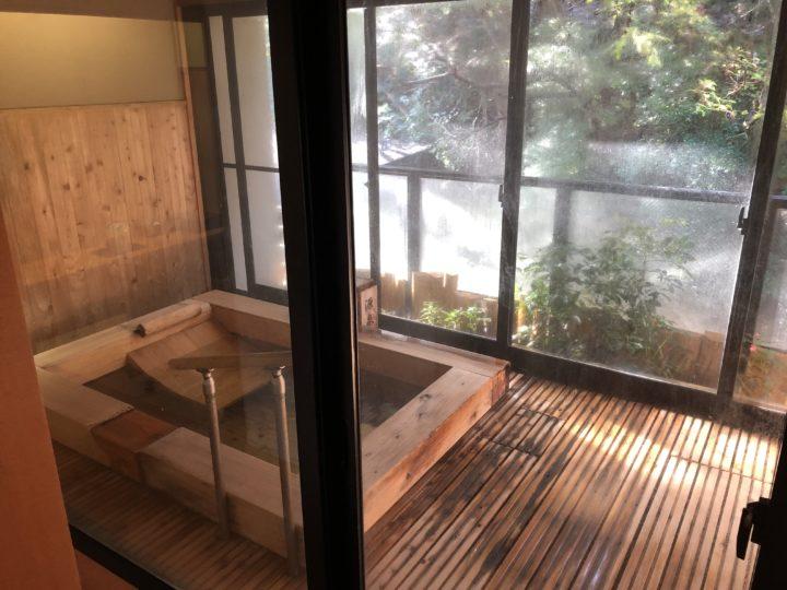 ピグマリオンの客室露天風呂