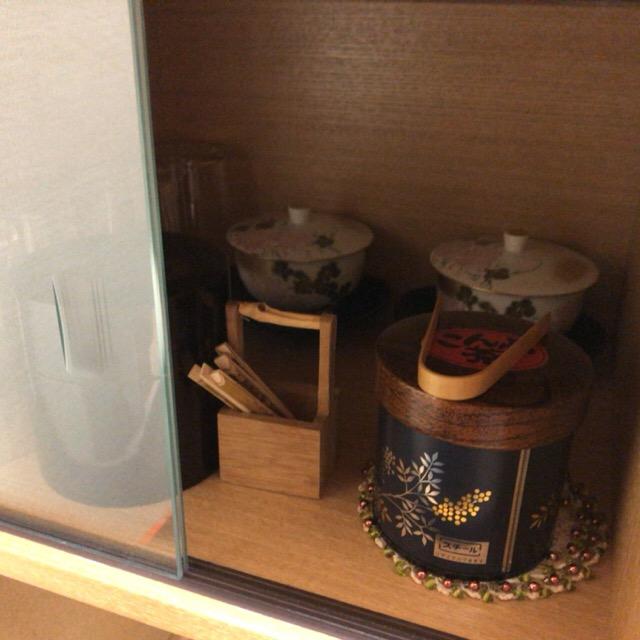 客室内のお茶