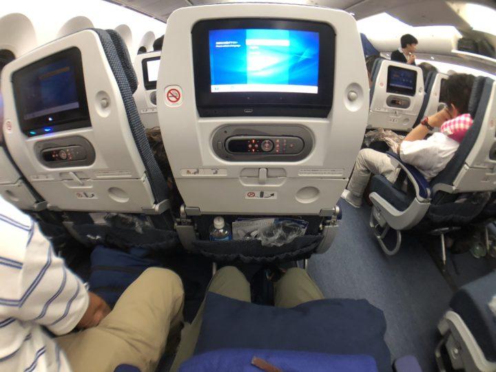 NH885とNH886の座席