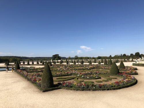 ヴェルサイユ宮殿の庭園(定休日)