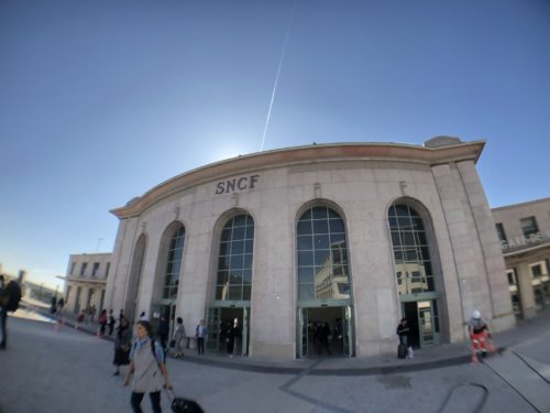 ヴェルサイユ・シャンティエ駅