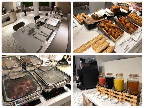 コートヤードパリロワシーシャルルドゴールエアポートホテル朝食2