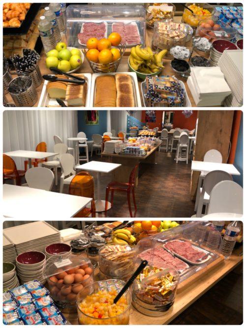 ホテルガブリエルの朝食