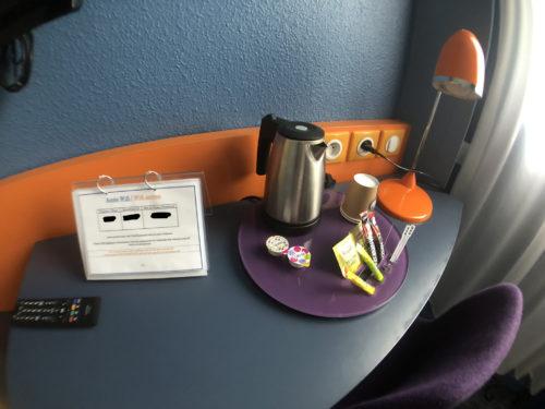 ホテルガブリエル客室のお茶とか