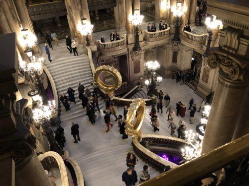 オペラガルニエ中央階段