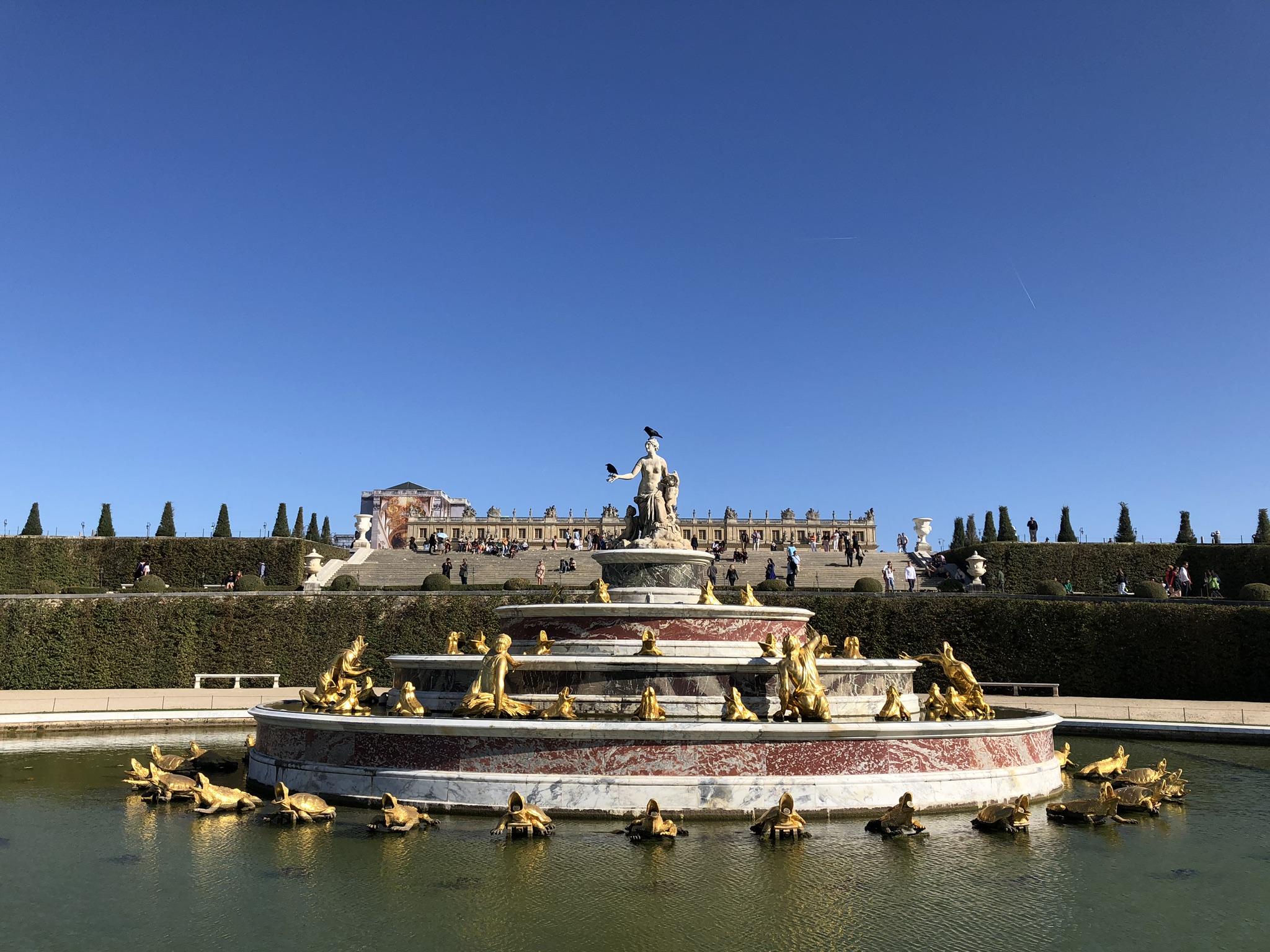 噴水と宮殿