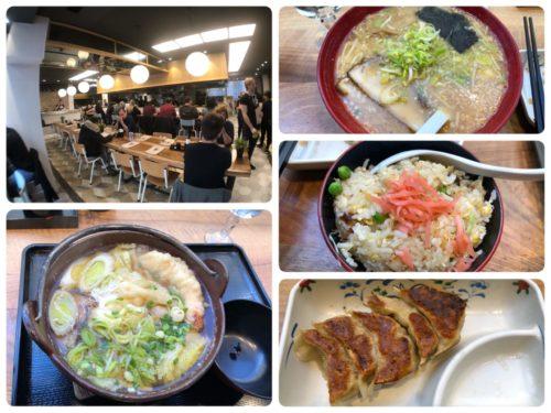 金太郎で日本食