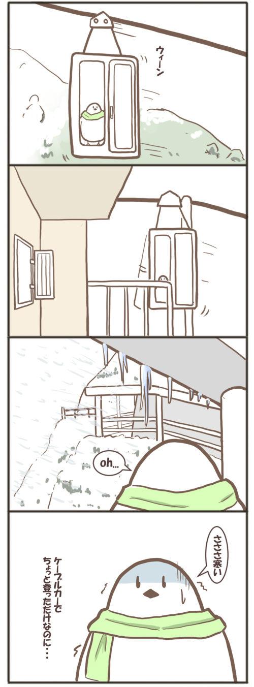吹雪のアイスリーゼンヴェルト