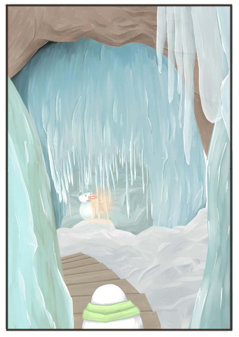 世界最大の氷の洞窟