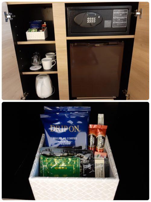 飲み物、冷蔵庫、金庫