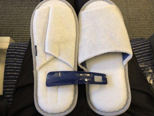 スリッパとミニ靴ベラ