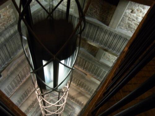 天文時計塔の中