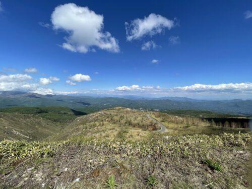 万座高原からの景色
