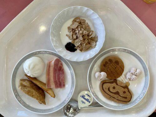 しゃくなげでの朝食1