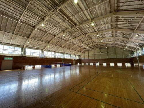 ラフォーレ修善寺の体育館内部